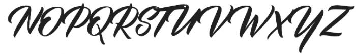 BisQuid Curve otf (400) Font UPPERCASE