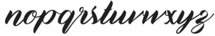 BisQuid Curve otf (400) Font LOWERCASE