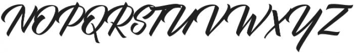 BisQuid otf (400) Font UPPERCASE