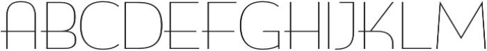 Biscayne Thin otf (100) Font UPPERCASE