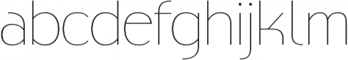 Biscayne Thin otf (100) Font LOWERCASE