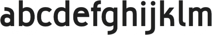Biscayne otf (700) Font LOWERCASE
