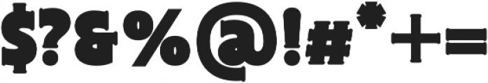 Biscotti BigBorder otf (400) Font OTHER CHARS