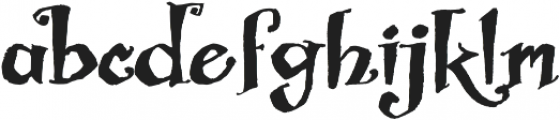 Biscuit Boodle Regular otf (400) Font LOWERCASE