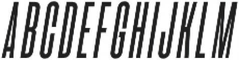 Bismark Italic otf (400) Font UPPERCASE