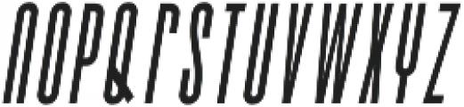 Bismark Italic otf (400) Font LOWERCASE