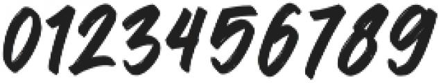 Bismore Bismore otf (400) Font OTHER CHARS