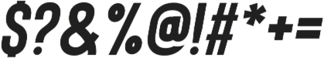 Bison Bold Itallic ttf (700) Font OTHER CHARS
