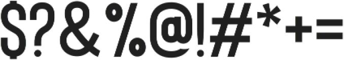 Bison DemiBold ttf (600) Font OTHER CHARS