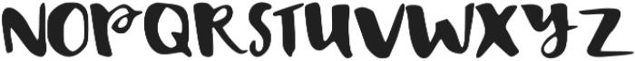 Bisou ttf (400) Font UPPERCASE