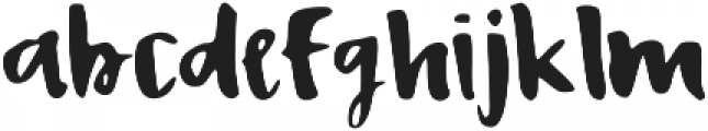 Bisou ttf (400) Font LOWERCASE