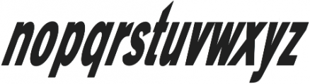 Bisous Sans otf (400) Font LOWERCASE