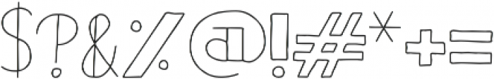 Bistro Sans otf (400) Font OTHER CHARS