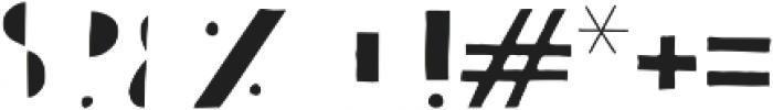 Bistro Serif otf (400) Font OTHER CHARS