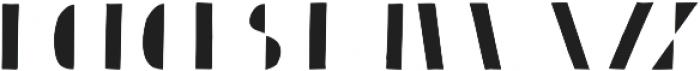 Bistro Serif otf (400) Font UPPERCASE