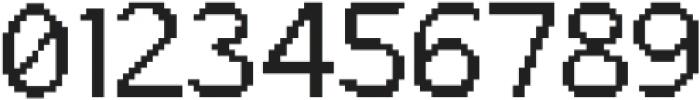 Bitbybit Regular otf (400) Font OTHER CHARS