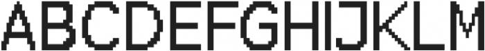 Bitbybit Regular otf (400) Font UPPERCASE