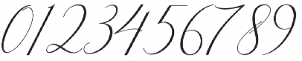 Bitthai Slant Italic otf (400) Font OTHER CHARS