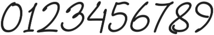 Bittledip Italic otf (400) Font OTHER CHARS
