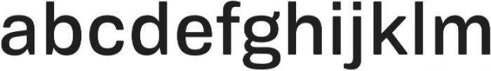 Biwa Display otf (400) Font LOWERCASE