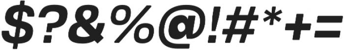 Biwa Display otf (700) Font OTHER CHARS