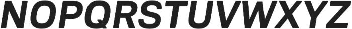 Biwa Display otf (700) Font UPPERCASE