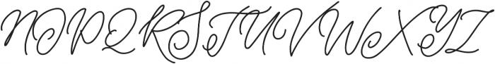 biolatesha 2 otf (400) Font UPPERCASE