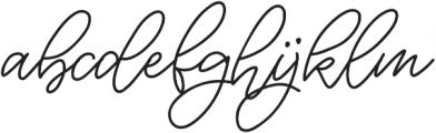 biolatesha 2 otf (400) Font LOWERCASE