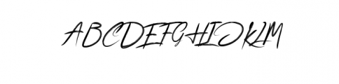 Bickeres.ttf Font UPPERCASE