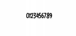 Bigsta.ttf Font OTHER CHARS