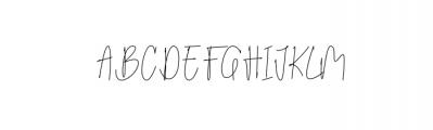 Billstone Font UPPERCASE