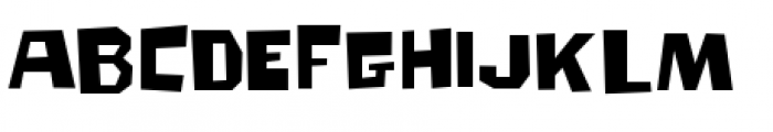 Big Chump BTN Regular Font UPPERCASE
