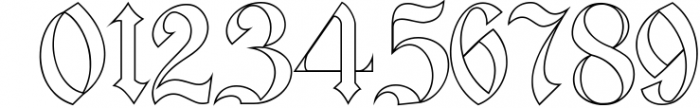 Bielefeld Typeface font 1 Font OTHER CHARS