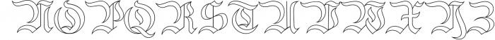 Bielefeld Typeface font 1 Font UPPERCASE