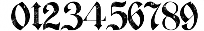 Bielefeld Typeface font 2 Font OTHER CHARS