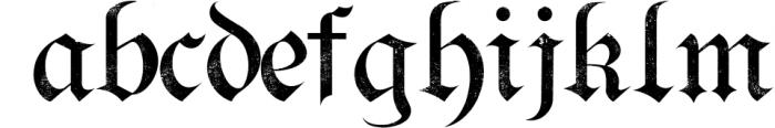 Bielefeld Typeface font 2 Font LOWERCASE