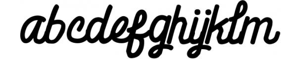 Billgis Font Duo 2 Font LOWERCASE