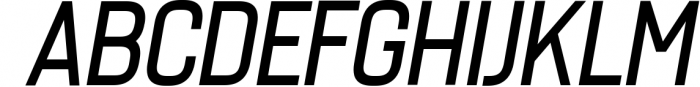 Billian - Easy Going Sans 4 Font UPPERCASE