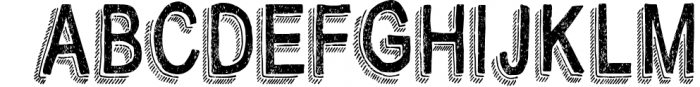 BiteChalk Typeface + extras 1 Font UPPERCASE