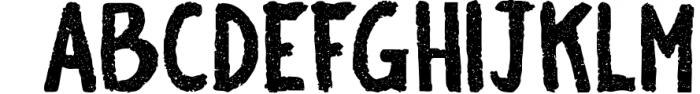 BiteChalk Typeface + extras 3 Font UPPERCASE