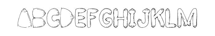 BIG BREAST FONT Font LOWERCASE