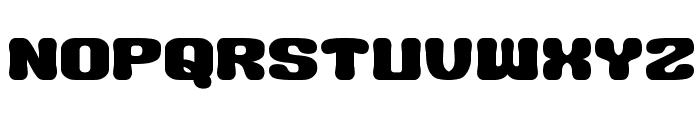 BIG BURGER__G Font UPPERCASE