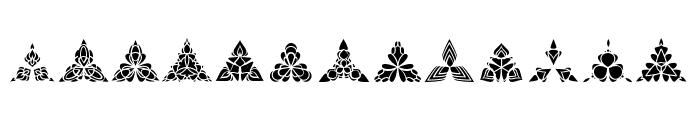 BIGILIW.Patterns Font UPPERCASE