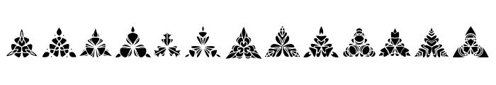 BIGILIW.Patterns Font LOWERCASE