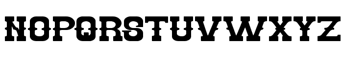 BILLY THE KID Font UPPERCASE