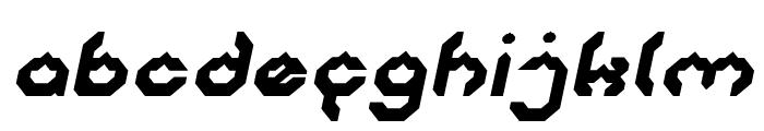 BIZZARE Italic Font LOWERCASE