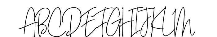 Bianka Script Font UPPERCASE
