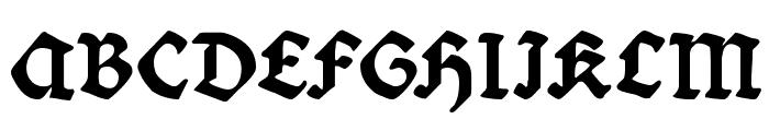 Bibelschrift Font UPPERCASE