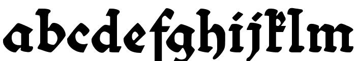 Bibelschrift Font LOWERCASE