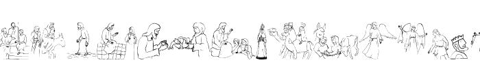 Biblicals Font LOWERCASE